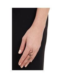 Ileana Makri | Black Cobra Ring | Lyst