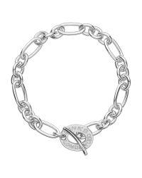 Links of London | Metallic Signature Charm Chain Bracelet | Lyst