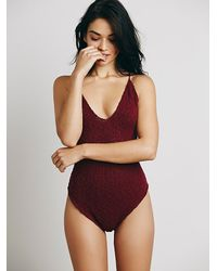 Intimately - Red Make My Baby Stay One Piece - Lyst