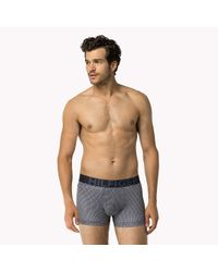 Tommy Hilfiger - Gray Stretch Cotton Trunk for Men - Lyst