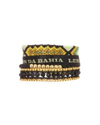 Hipanema | Yellow Bracelet | Lyst