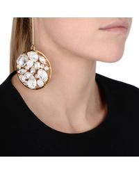 Stella McCartney | Metallic Stones Drop Earrings | Lyst