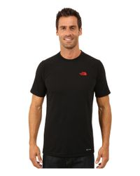 The North Face | Black Short Sleeve Rdt Crew Tee for Men | Lyst