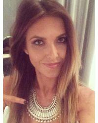 Natalie B. Jewelry | Metallic Natalie B Jewelry Lucky Princess Necklace In Audrina Patridge | Lyst