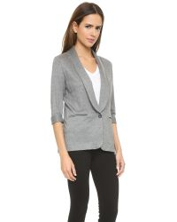 Soft Joie - Gray Neville Blazer - Dark Heather Grey - Lyst