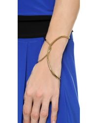 Alexis Bittar - Metallic Liquid Hinge Bracelet - Lyst