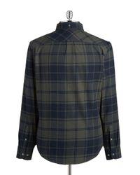 Original Penguin | Gray Flannel Shirt for Men | Lyst