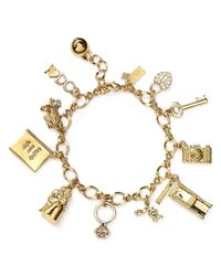 kate spade new york - Metallic Kiss A Prince Charm Bracelet - Lyst