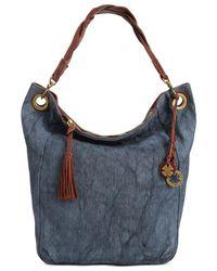 Lucky Brand - Blue Ashmore Fabric Bucket - Lyst