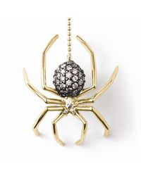 J. Herwitt - Metallic Large Spider Lariat Necklace - Lyst