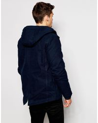 Parka London - Blue Jacket for Men - Lyst