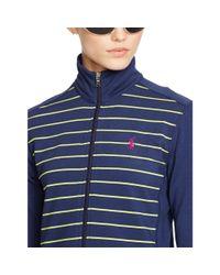 Ralph Lauren Golf - Blue Zip-up Mockneck Jacket - Lyst