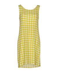 Siyu | Yellow Short Dress | Lyst