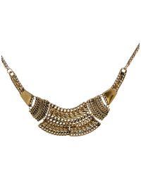 Pull&Bear - Metallic Pull Bear Basic Necklace - Lyst