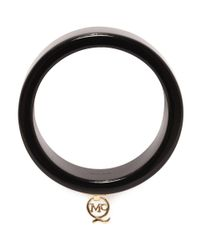 McQ | Black Plexi Q Bangle | Lyst