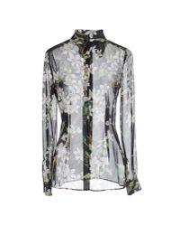 Dolce & Gabbana - Black Shirt - Lyst