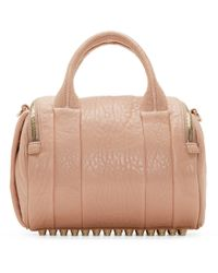 Alexander Wang - Natural Rockie Calfskin Satchel Bag - Lyst