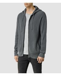 AllSaints - Blue Trias Hoody Usa Usa for Men - Lyst
