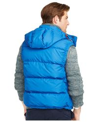 Polo Ralph Lauren | Blue Elmwood Down-feathers Vest for Men | Lyst