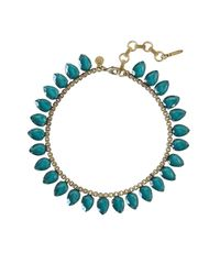 Loren Hope | Blue Sylvia Necklace, Deep Sea | Lyst