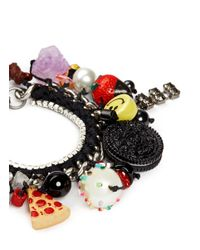 Venessa Arizaga - Multicolor 'baby Got Snack' Bracelet - Lyst