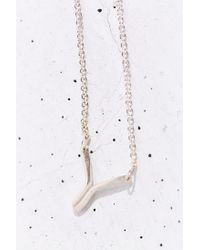 Better Late Than Never - Metallic Radial Necklace - Lyst