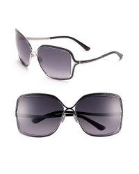 Jimmy Choo | Pink 63Mm Oversized Sunglasses | Lyst