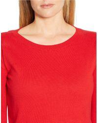 Lauren by Ralph Lauren | Plus Mock-layered Crewneck Sweater | Lyst