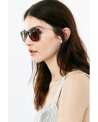 Ray-Ban | Brown Stylish Frame Sunglasses | Lyst