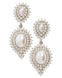 Samantha Wills - Metallic 'velvet Nights' Faux-pearl Drop Earrings - Lyst