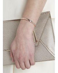 Monica Vinader - Metallic Fiji 18Kt Rose Gold-Plated Bracelet - Lyst