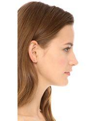 Gabriela Artigas | Metallic Triple Shooting Star Earrings - Gold | Lyst