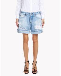 DSquared² | Blue Kawaii Shorts | Lyst