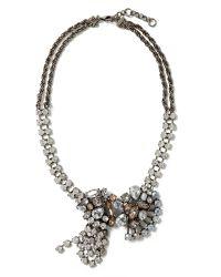Banana Republic | Multicolor Asymmetrical Sparkle Necklace | Lyst