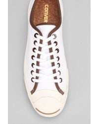 Converse - White Jack Purcell Canvas Sneaker for Men - Lyst