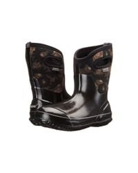 Bogs | Black Classic Watercolor Mid | Lyst