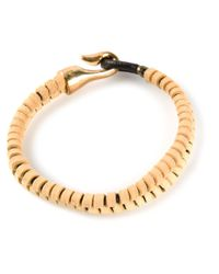 Michael Bastian - Natural Double Strand Bracelet for Men - Lyst