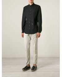 DSquared² - Gray Chino Trousers for Men - Lyst