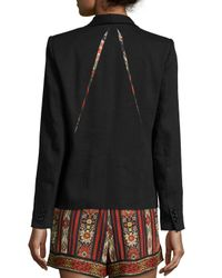 Étoile Isabel Marant - Black Keith One-button Blazer - Lyst