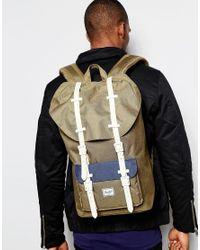 Herschel Supply Co. | Green Little America Backpack 23l for Men | Lyst
