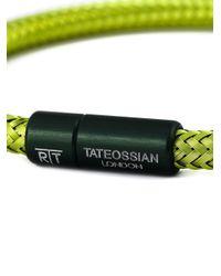 Tateossian | Green 'soho' Bracelet for Men | Lyst