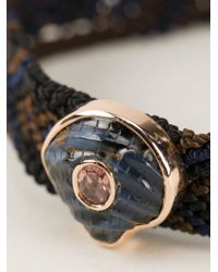 Dezso by Sara Beltran | Brown 'mexican' Bracelet | Lyst
