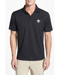 Cutter & Buck | Black 'new Orleans Saints - Genre' Drytec Moisture Wicking Polo for Men | Lyst