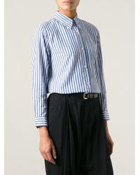 Isabel Marant - Blue Eddie Striped Shirt - Lyst