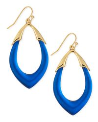 Alexis Bittar - Blue Medium Lucite Orbit Link Drop Earrings (Made To Order) - Lyst