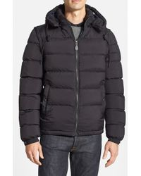 Burberry Brit | Blue Basford Detachable Puffer Jacket for Men | Lyst
