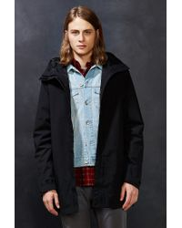 The North Face - Black El Misti Hooded Long Parka Jacket for Men - Lyst