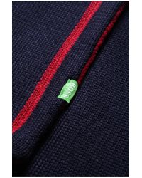 BOSS Green - Red Scarf: 'scarf' In Wool Blend for Men - Lyst