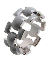 J.W.Anderson - Gray Ring - Lyst
