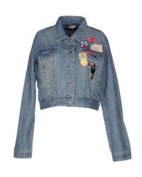 Manoush | Blue Denim Outerwear | Lyst